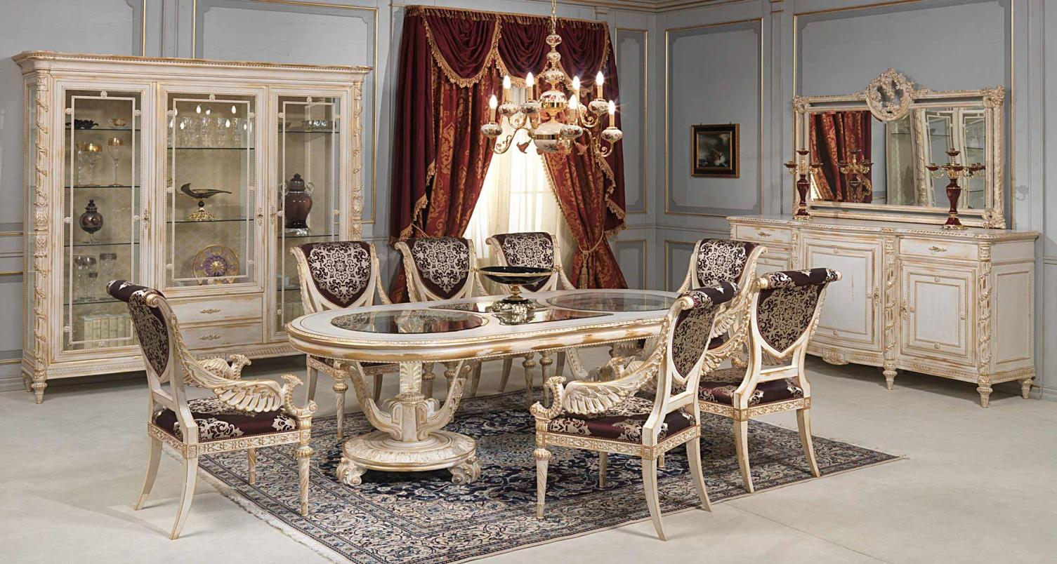 2017 formal dining room furniture for elegant functional for Elegant dining room furniture