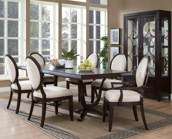 2018 formal dining room furniture for elegant functional for Comfortable dining room