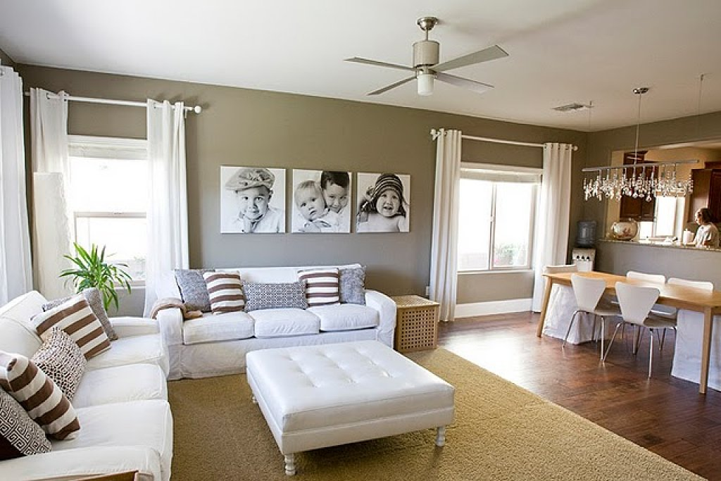 Top Colors For Living Rooms 2017 Part - 15: 2017 Living Room To Dining Room Trendiest Colors For Wonderful Home