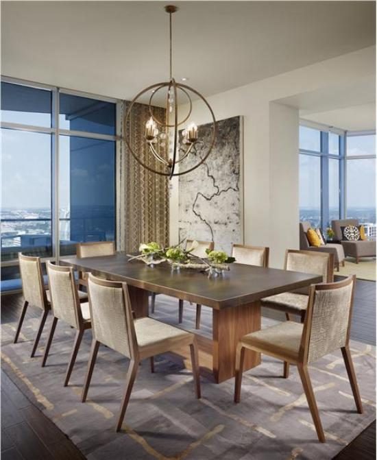 A timeless dining room look with 2018 complete wooden for Modern dining suites