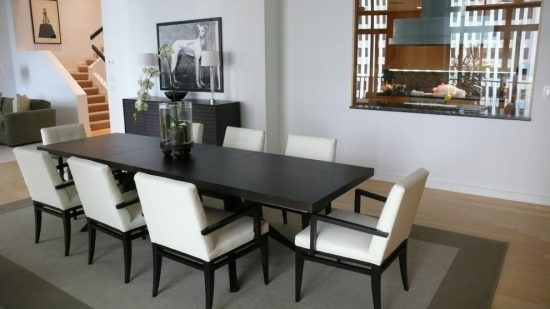 A timeless dining room look with 2017 complete wooden dining room set