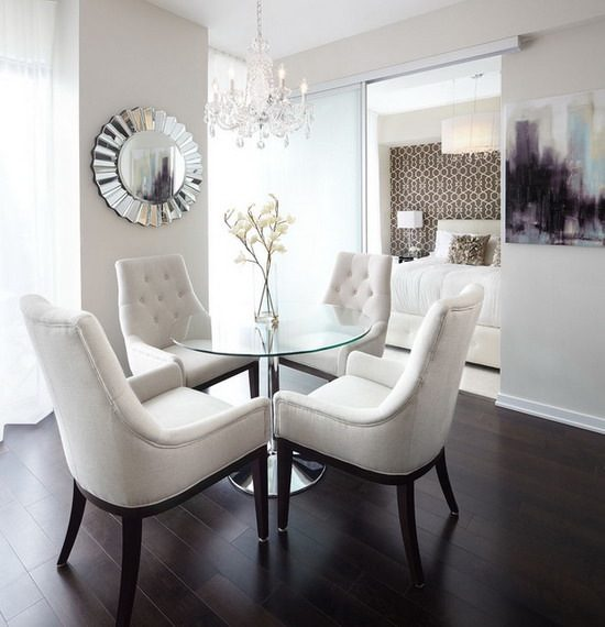 Add pure beauty and timeless comfort with 2017 white dining room furniture