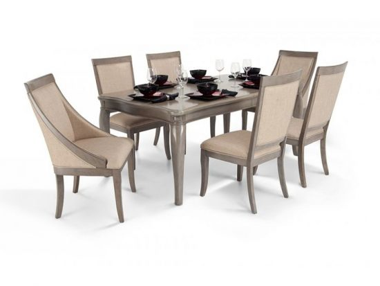An incredible table with 10 chairs from 2017 collections; A perfect choice for you