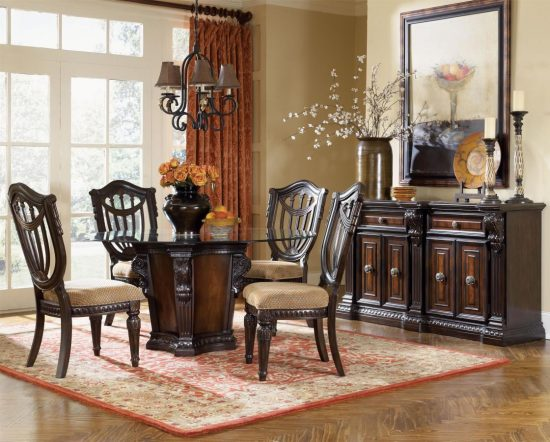 Beautify your dining space with 2017 cherry dining room set
