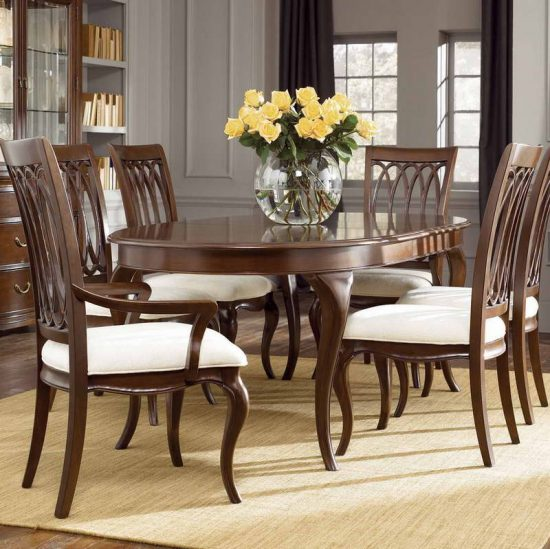 Beautify your dining space with 2017 cherry dining room set ...