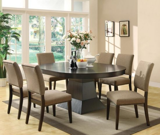 Best 2017 dining room table and chair set choice for 6 for Best dining table 2017