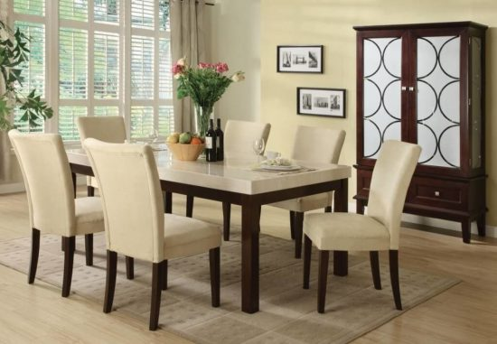 Best 2017 Dining Room Table And Chair Set Choice For 6 - Dining