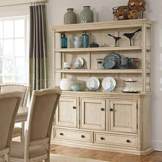 Dining room hutch what nobody told you about decorating for Painted dining room hutch ideas