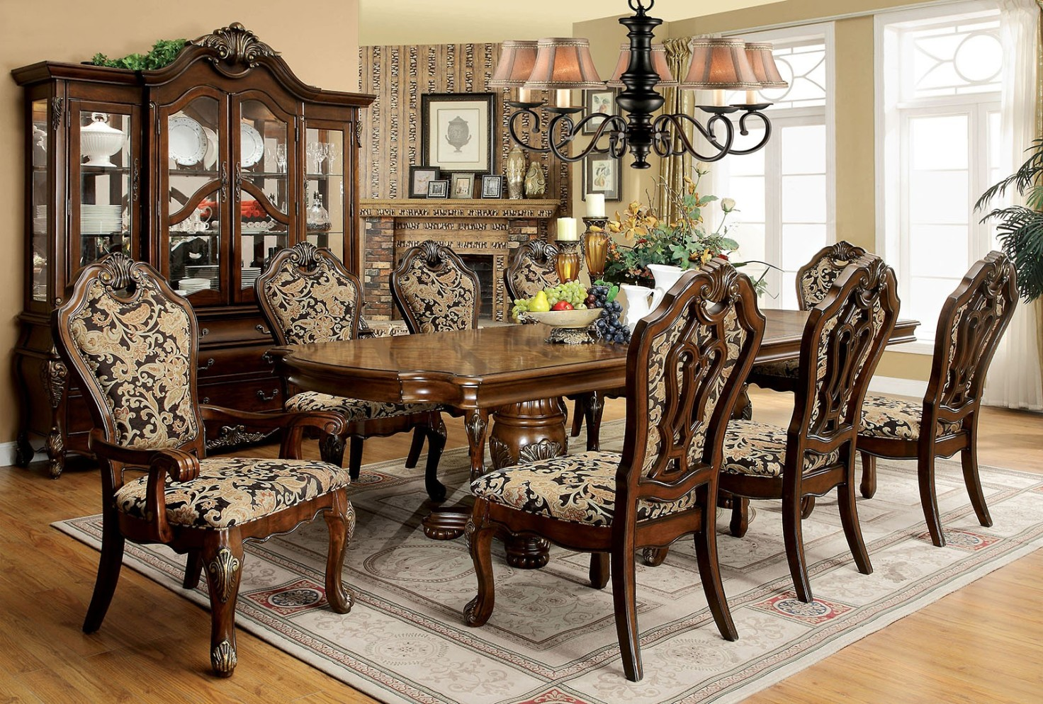 Formal dining room sets reasons why formal tables offer for Fancy dining room tables