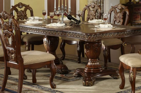 Formal dining room sets reasons why formal tables offer for Traditional dining room furniture