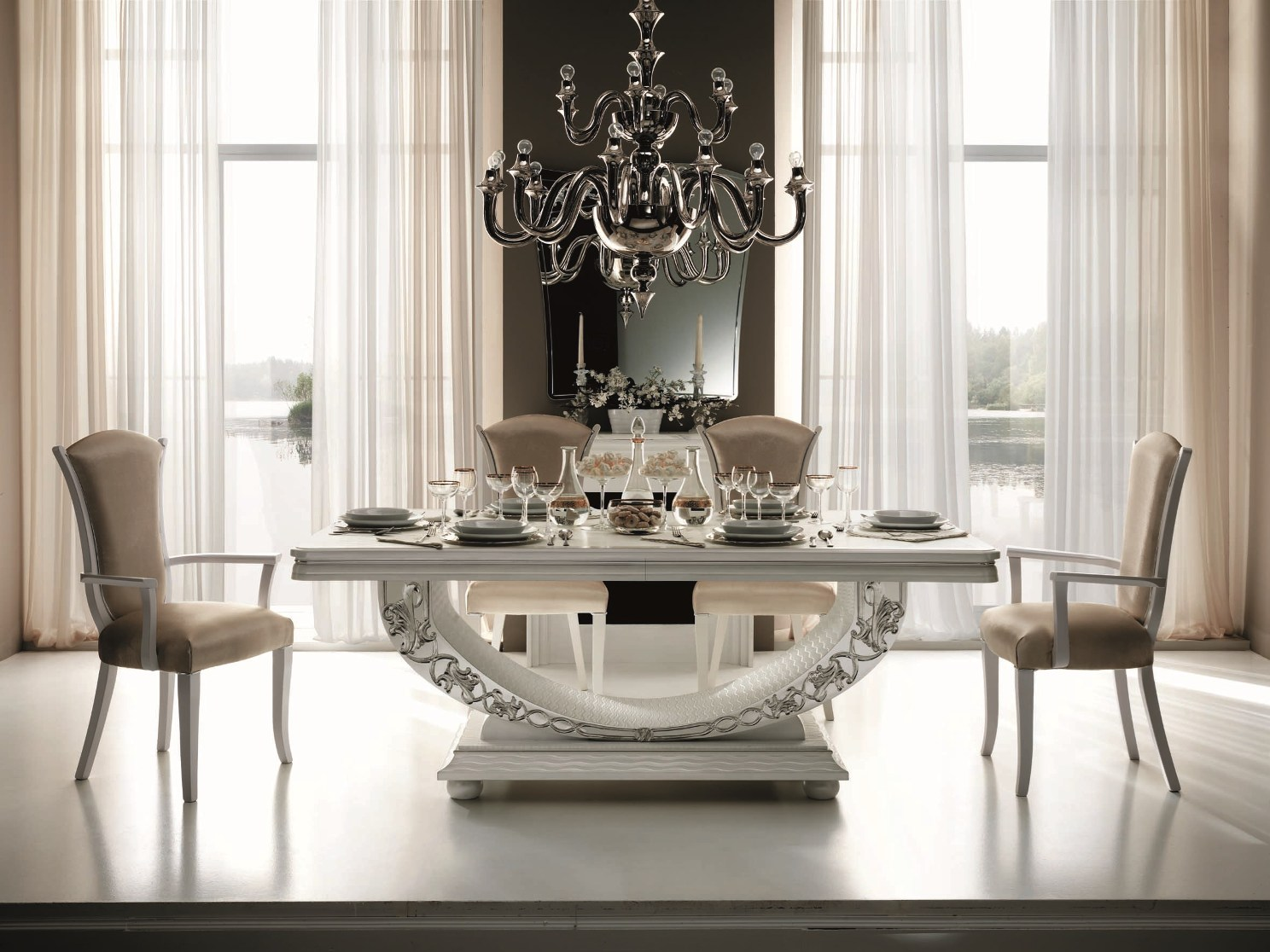 Glass Dining Room Furniture A Perfect Wow factor For