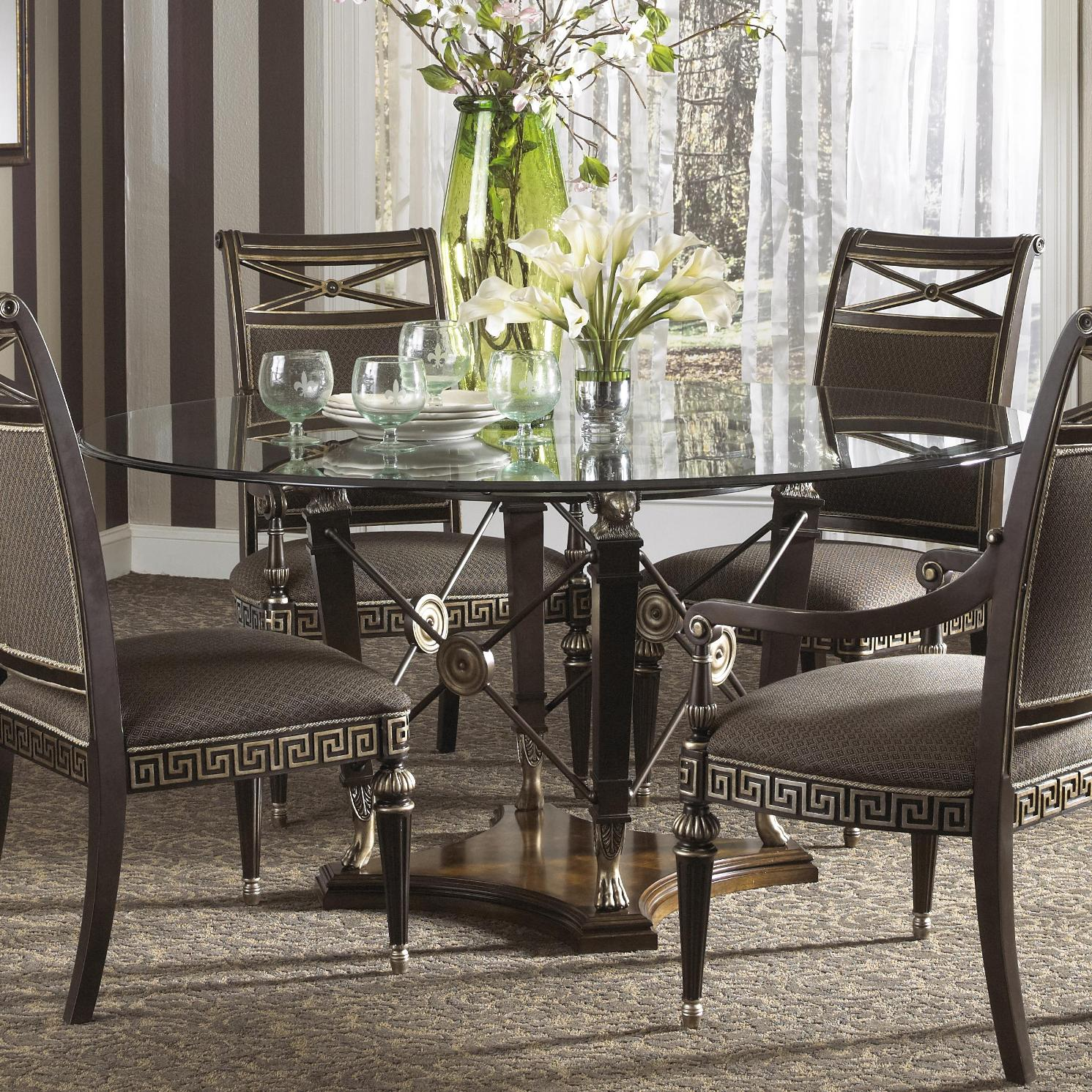 How to set an attractive and elegant dining room table for Dining room elegant