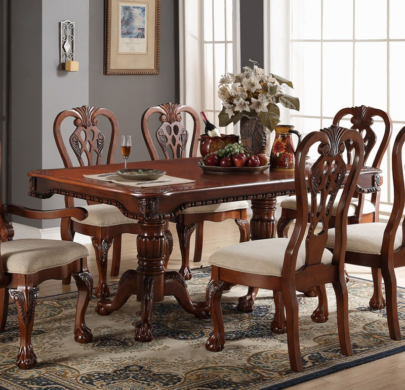 Mahogany dining room furniture a timeless beauty with an for Dining room looks