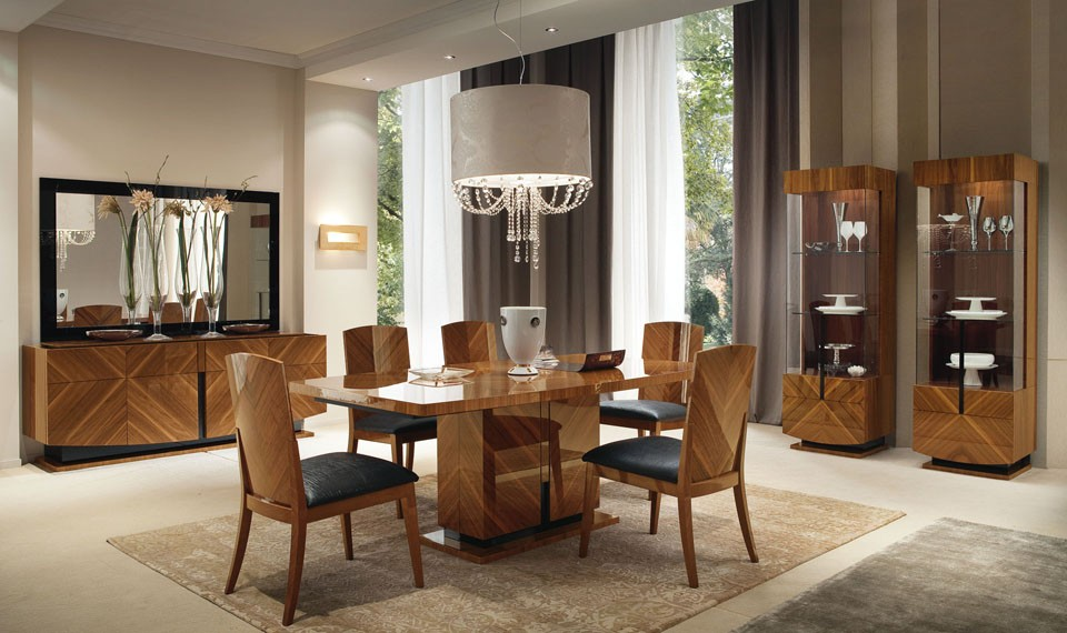 Mission style dining room timeless beauty and for Makeup by tiffany d dining room