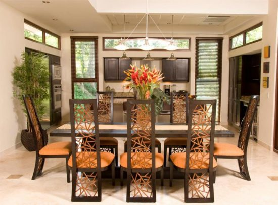 Mission style dining room Timeless beauty and functionality