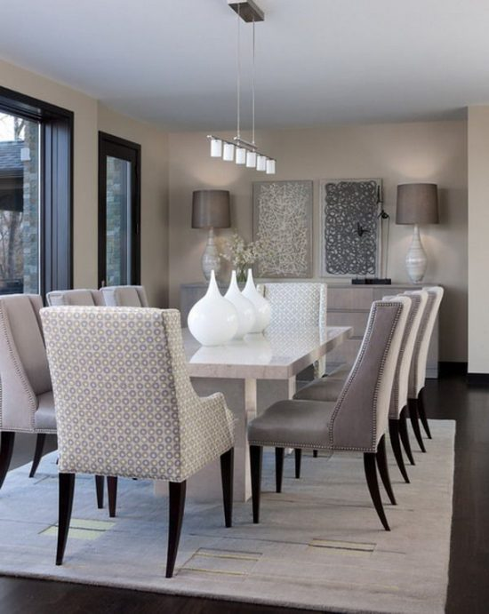 Modernize your dining area with 2017 modern trends for Dining room 2014 trends