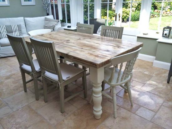 Refinishing A Dining Room Set Revive Your Shabby