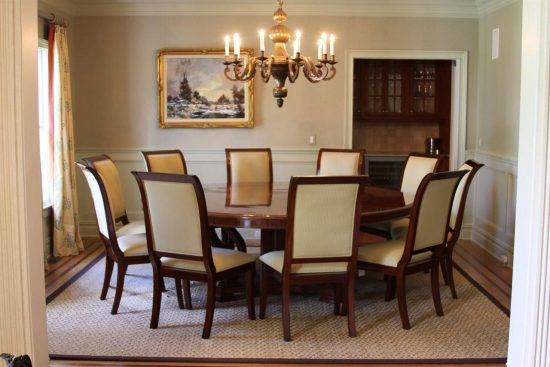 Round dining table room how to pick the best chairs for!
