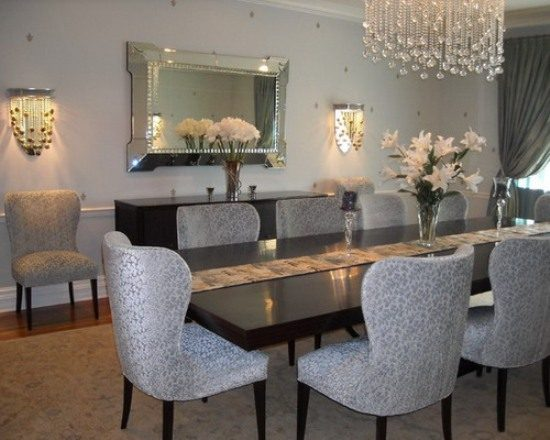 Simple tips to renovate your dining area with 2018 trends for Dining room area ideas