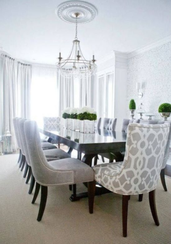 The best 2017 dining room design trends to rock your space  : The best 2017 dining room design trends to rock your space 1 550x783 from diningroomdid.com size 550 x 783 jpeg 56kB
