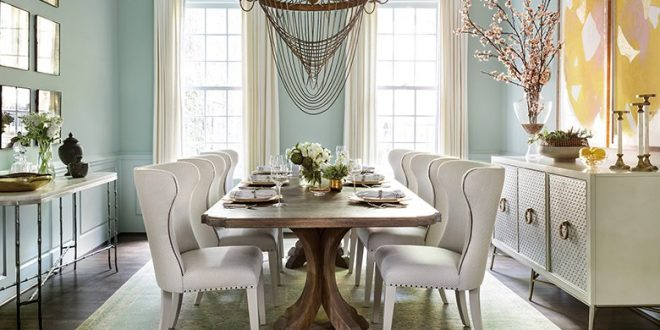 The best 2018 dining room design trends to rock your space for Best dining room decor