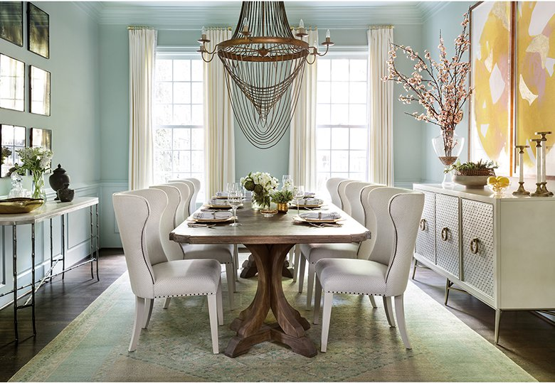 The best 2017 dining room design trends to rock your space for Best colors for dining rooms 2016