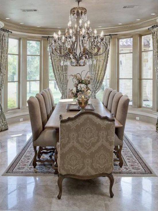 The best 2017 dining room design trends to rock your space for Dinner room ideas
