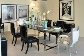 2018 Contemporary dining room decor; absolute beauty and elegance