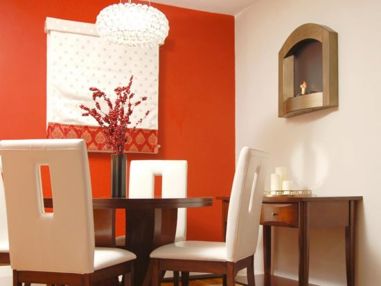 Add a vivid character to your dining room with 2017 trendy colors