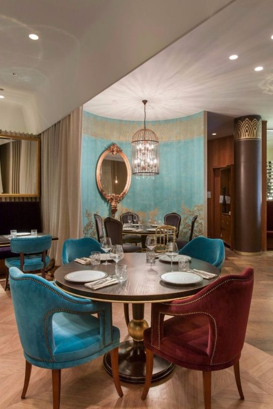 Add a vivid character to your dining room with 2017 trendy for Dining room ideas 2017