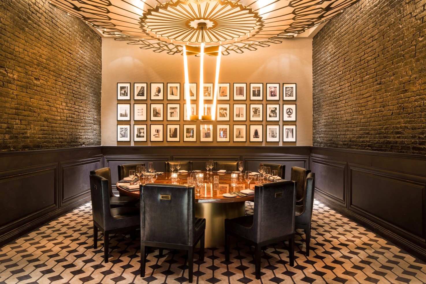 Add a vivid character to your dining room with 2017 trendy for Best private dining rooms los angeles