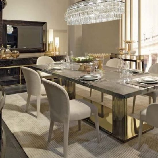 All about the dining room tabletop options available in 2017 design world