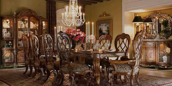Antique Dining Room Furniture A Royal Touch Of Beauty From