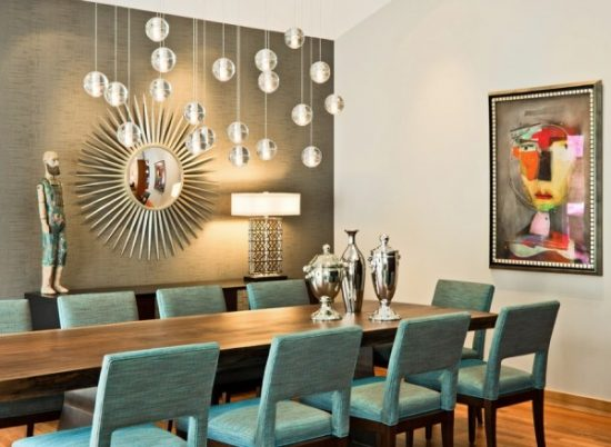 Marvelous Dining Room Lighting; A Bright Elegant Touch For Warm Inviting Space