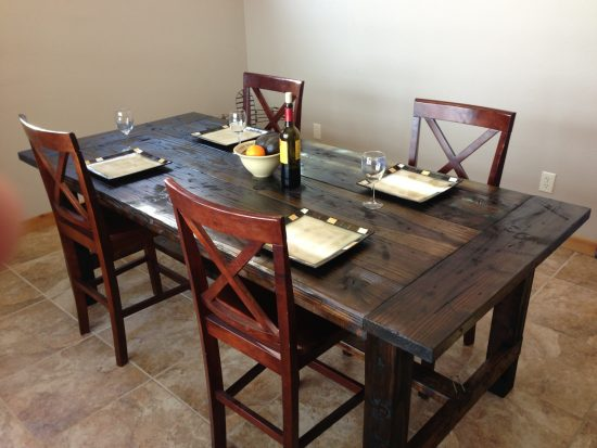 Farm Style Dining Table U2013 Never Miss An Online Sale!