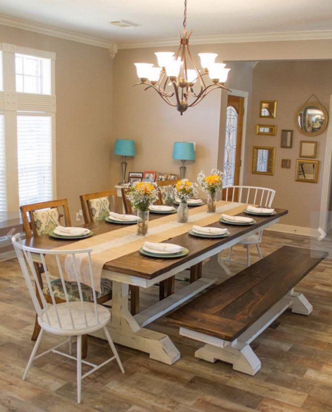 Get a distinctive style with a beautiful custom dining for Beautiful dining room tables