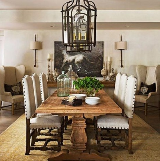 Get A Distinctive Style With Beautiful Custom Dining