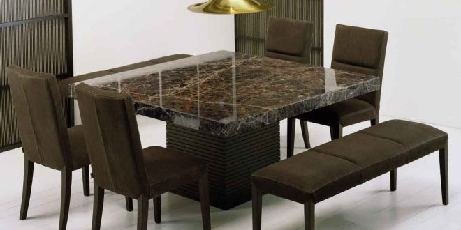 get extraordinary fashionable look with 2017 marble dining tables - Marble Dining Room Decorating