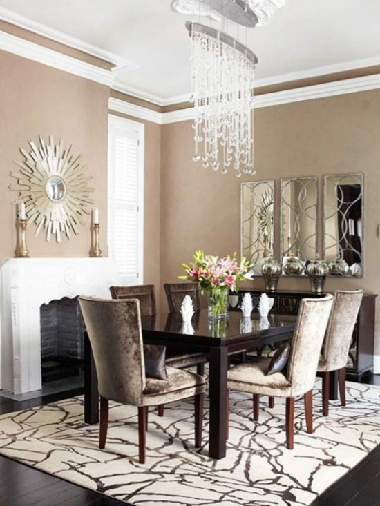 Get stylish and functional dining room with 2018 space for Space saving dining set