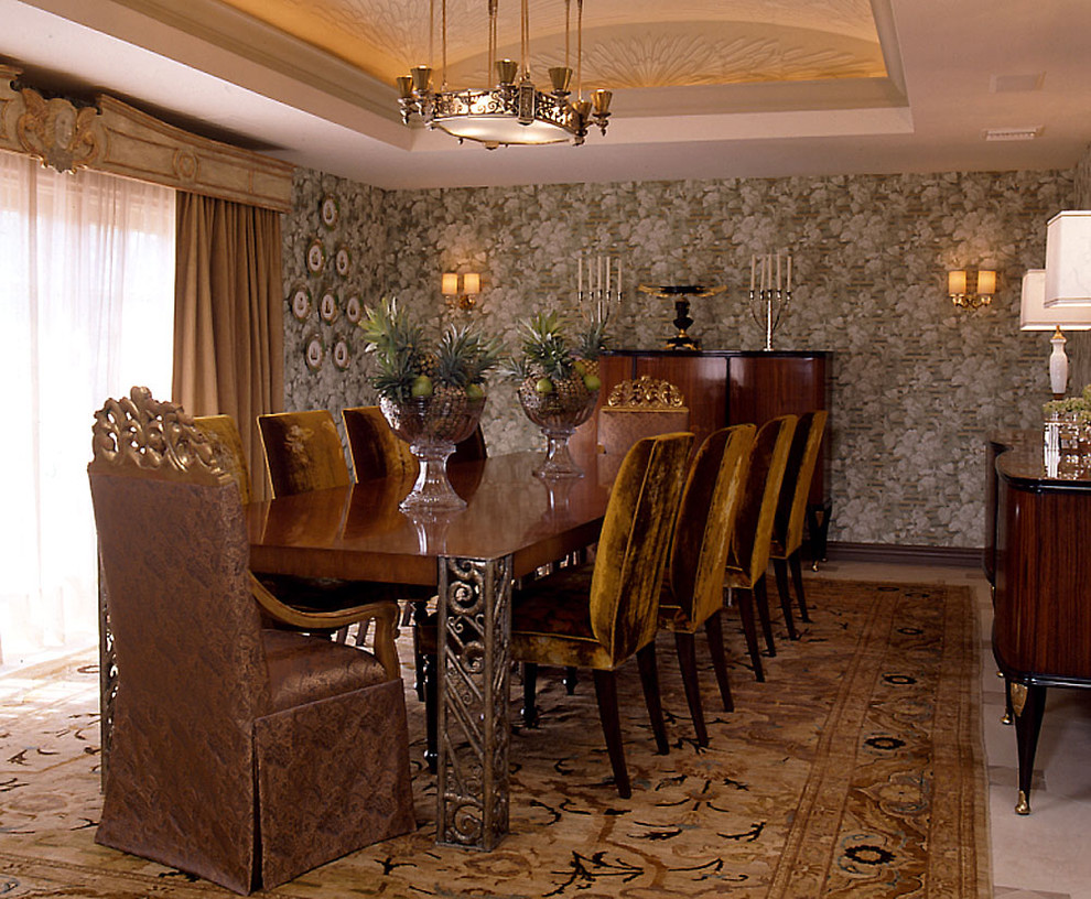 Invest in pedestal dining room table for a magnificent for Art dining room sets