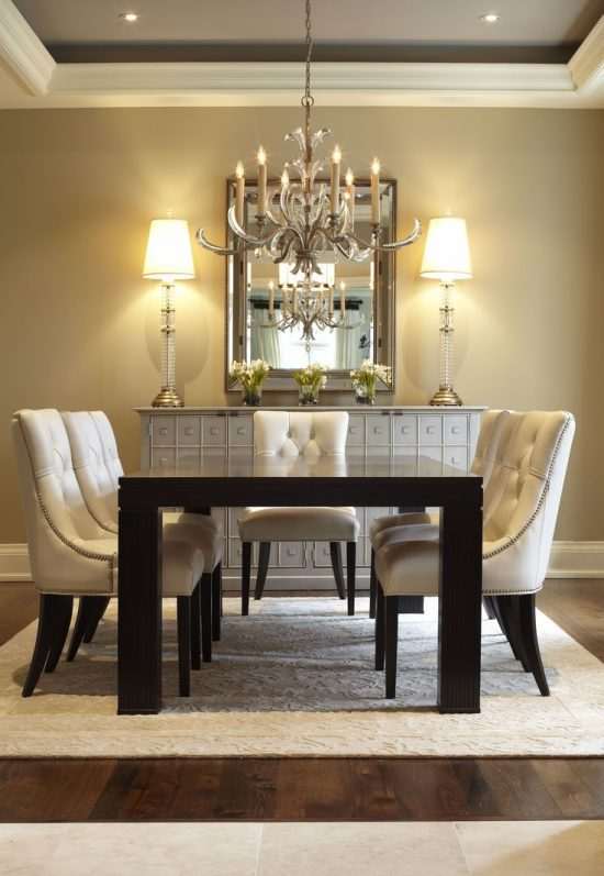 Invest well in 2017 contemporary dining room table for elegance and functionality