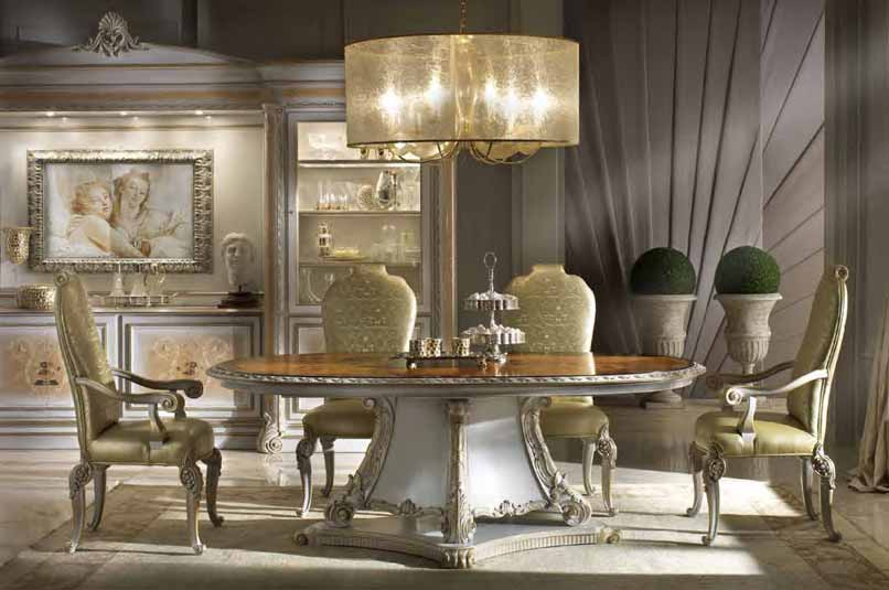 Italian Dining Room Furniture Timeless Beauty With