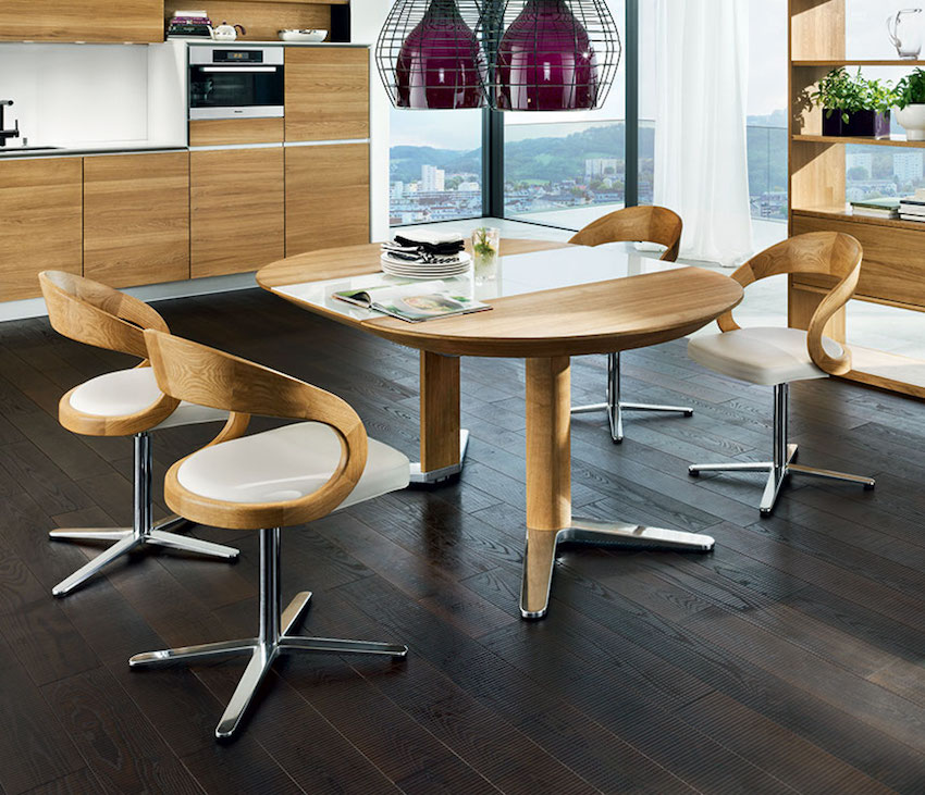 Italian dining room furniture timeless beauty with for Different dining table styles
