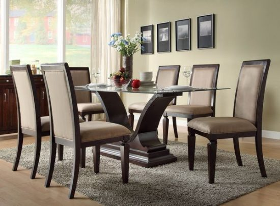 Rustic dining room furniture lends your space aesthetic for Makeup by tiffany d dining room