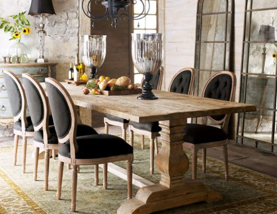 rustic dining room furniture lends your space aesthetic