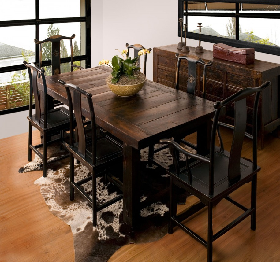 Rustic dining room furniture lends your space aesthetic for Your room furniture