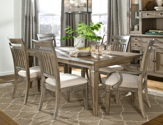 Rustic dining room furniture lends your space aesthetic for Dining room looks