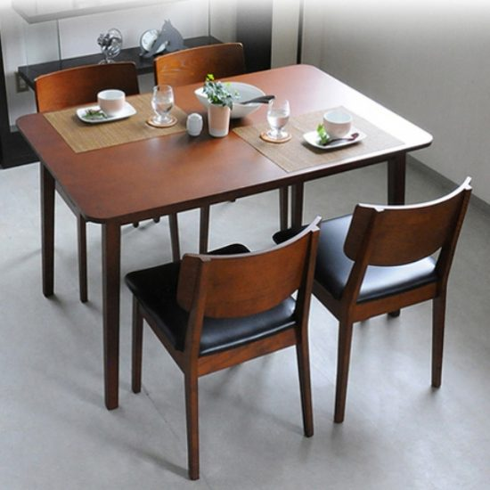Small dining room table with leaves a smart choice for for Small dining room table with leaf