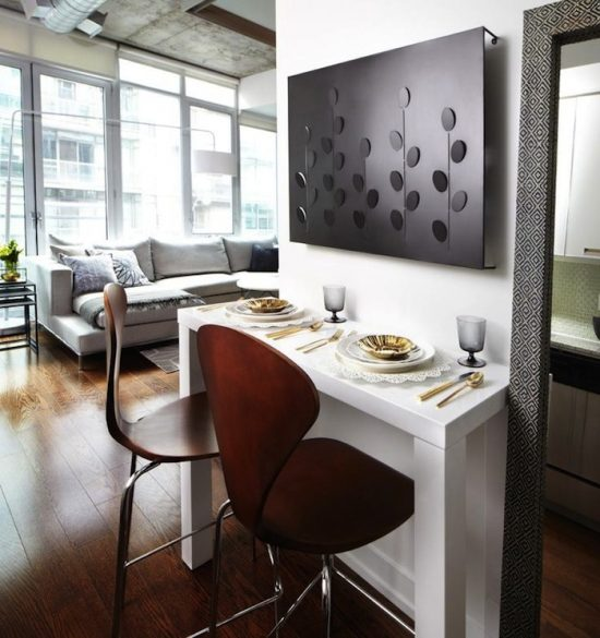 Small Dining Room Table With Leaves A Smart Choice For