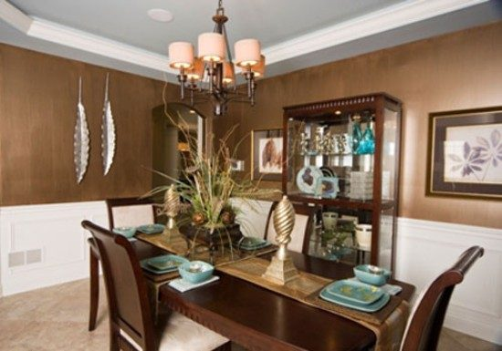 Tuscan Dining Room Dcor For Warm Elegant And Outstanding Look